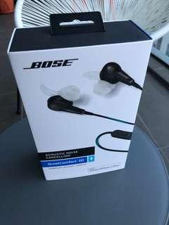 Brand new Bose QC20 earphones