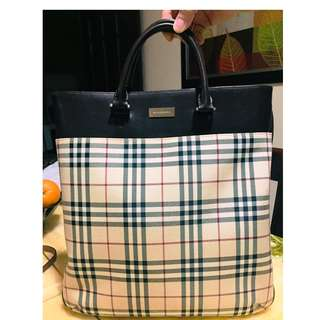 Burberry Tote Bag (Preloved)
