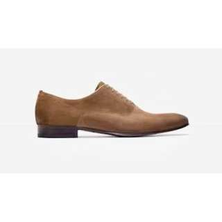 Zara Men's Shoes Brand New Brown Suede Oxfords with FREE attached sole protectors