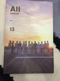 Seventeen All Ver Album