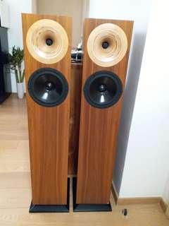 German handmade speakers, rare in Hong Kong!