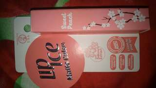 Lip Ice Matte Color Sweet Peach New
