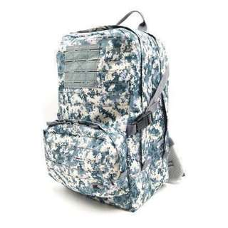 Utility II Backpack. Navy Pixelated. For the previous army-designed Utility Bag with 6 colours please link to https://sg.carousell.com/p/40732533