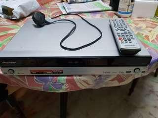 Used Pioneer DVD recorder
