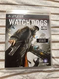 PS3 Game 遊戲 watch dog