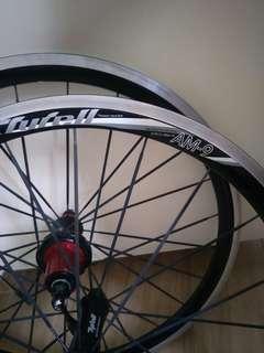 tyrell am9 406  wheelset