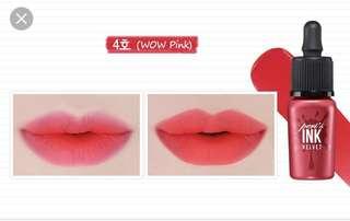 Peri Ink Velvet #4 WOW Pink