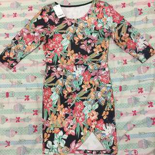 New Flower Bodycon