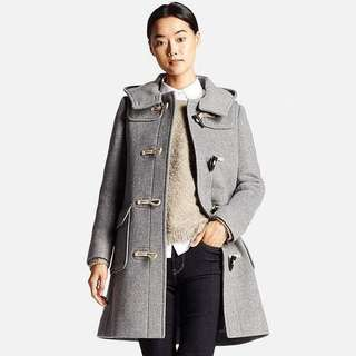 UNIQLO Grey Duffle Coat