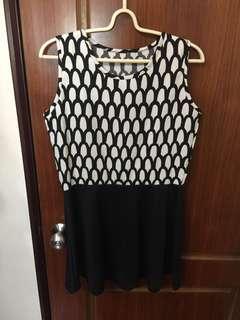 魚鱗紋洋裝