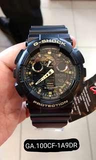 Bunga 0% G Shock GA.100CF-1A9DR Kredit Tanpa Kartu kredit