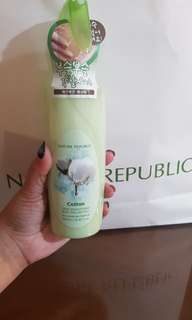 Nature republic skin smoothing body peeling