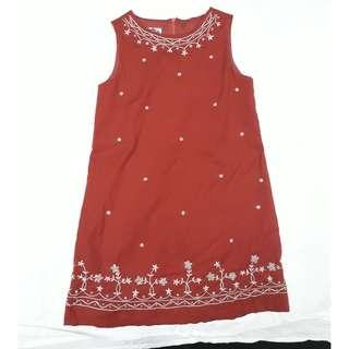 Stylish Beaded Dress for Girls
