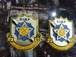 DIMP DATO 3D Emblem Badge Logo For CAR