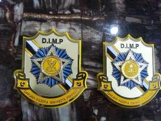 DIMP DATO 3D Emblem Badge Logo For CAR