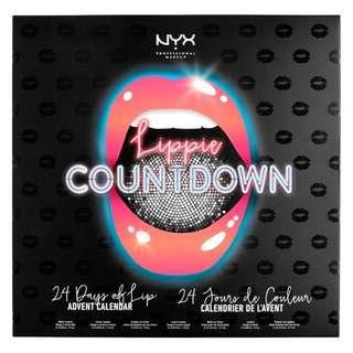 Nyx Professional Advent Calendar Lippie Countdown