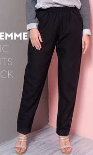 Basic pants black tw_room