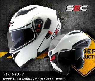 SEC Helmet Modular (KYT, HJC, LS2, NHK, AGV)