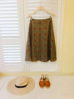 🚚 我的南法風情 W.Doublewin 專櫃 波西米亞刺繡棉料裙