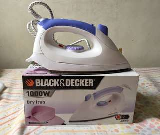 Black & Decker Dry Iron