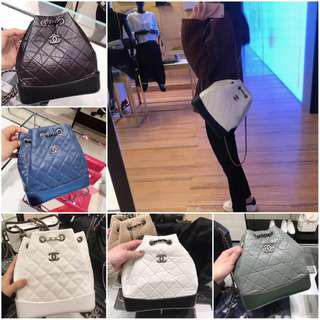 Chanel handbag new Gabrielle stray backpack chain bag
