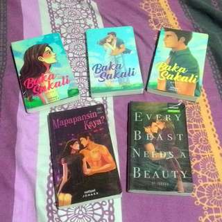 JONAXX POP FIC BOOKS