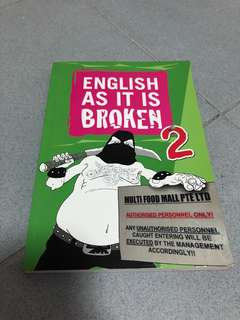 PRELOVED English as It Is Broken 2 Book