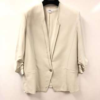 Helmut Lang gray white jacket size 2