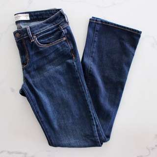 Abercrombie & Fitch Flared Denim Jeans
