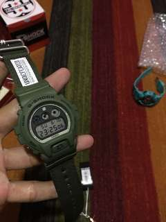 Wts casio G-shock dw 6900 x undefeated bnib