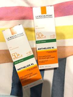 La Roche posay anti shine sunscreen