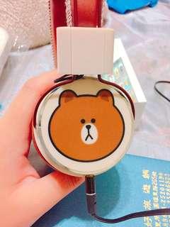 🚚 熊大全罩式耳機