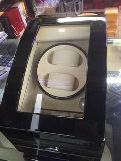 日本鋼琴烤漆自動上鏈手錶盒 收納盒 收藏盒 展示盒 腕錶防停轉