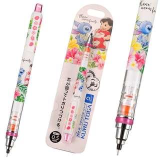 日本迪士尼代購 Stitch 史迪仔 鉛芯筆