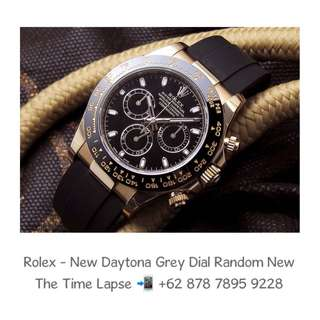 Rolex - New Daytona Grey Dial 18K Yellow Gold 'Random' (New in Box)