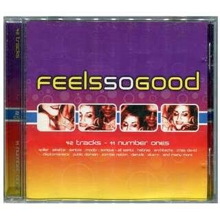 2001 Feels So Good - Original 2 x CD Set Trance, House, 42 Classic Dance Tracks
