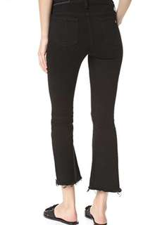 Rag&bone crop flare jeans