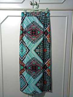 (REPRICED) Bohemian Maxi Skirt