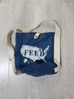 Feed Denim Bag