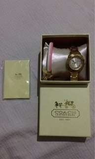 Authentic Coach Watch (Gold)