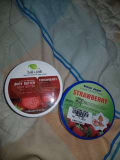 BODY BUTTER & LULUR TRADISIONAL (STRAWBERRY)