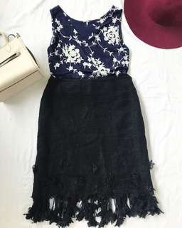 Lace Black Skirt