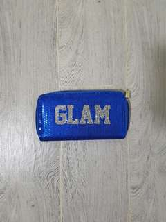 Glam Blue Wallet