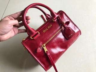 Miu Miu Vitello Lux Handbag