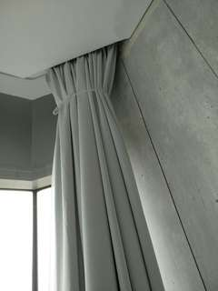 Curtains installation from 60 dollars onwards