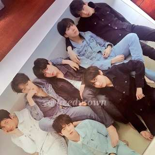 [READY STOCK] BTS - LOVE YOURSELF TEAR (R Vers.) POSTER