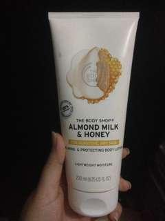 Hand body almond and milk honey