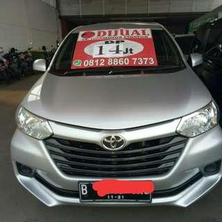 Toyota Avanza E MT 2016