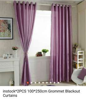 Curtain blackout2 pcs