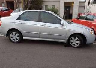 Kia Cerato 2004 front panel damage
